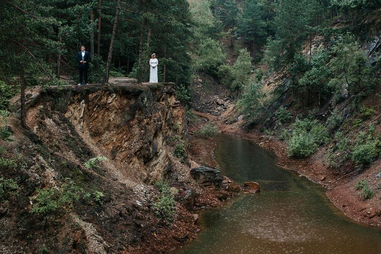 sesja ślubna w Sudetach