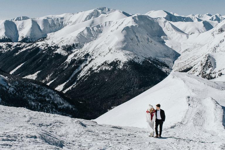 plener ślubny w górach Kasprowy Wierch