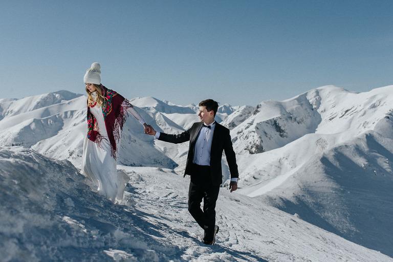plener ślubny w tatrach Kasprowy Wierch